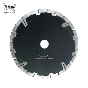 Saw Blade Long And Short Addendum Gears Swirl Granite Marble Protection Cutting Rotary Plated
