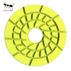 Resin Floor Polishing Pad With PVC Backing Wet Use 5inch Granite Marble Terrazzo Quartz