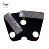 Metal Diamond Grinding Plate for Concrete Solid Angle 2 Square Gear Bayonet Base